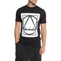 Alexander McQueenGlyph Icon Jersey T-Shirt, Black