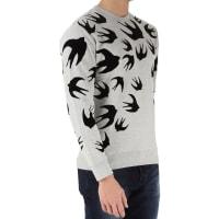 Alexander McQueenSweater for Men Jumper, Grey, Cotton, 2016, L M S