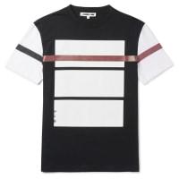 Alexander McQueenSlim-fit Printed Cotton-jersey T-shirt - Black