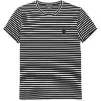 Alexander McQueenSlim-fit Striped Cotton T-shirt - Black