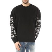 Alexander McQueenSweatshirt for Men, Black, Cotton, 2016, M XL