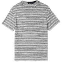 Alexander WangSlim-fit Striped Slub Linen-jersey T-shirt - Gray