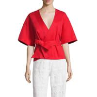 AlexisAnastacia Wrap Kimono Top
