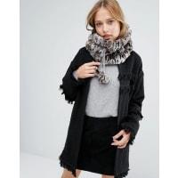 Alice HannahSporty Fur Snood - Brown animal