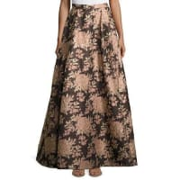 Alice & OliviaRachelle Floral Jacquard Ball Skirt, Multicolor