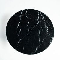 AM.PMPlateau de table bistrot marbre Ø75 cm, Aradan