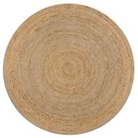 AM.PMRunder Teppich Hempy, Durchmesser 160 cm