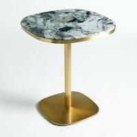 AM.PMTable de bistrot marbre Ø60 cm, Lixfeld