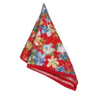 Amanda ChristensenNäsduk Italy Silk Floral | Red