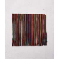 Amanda ChristensenWool Scarf 4 Red Stripe