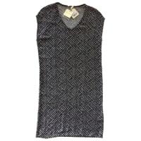 American VintageKleid Viskose Schwarz - aus zweiter Hand