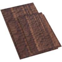 AmpersandSwell Tray SetBlack Walnut