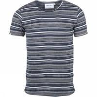 AnerkjendtT-shirt Albertinus Jeansblauw/Lichtgrijs