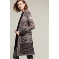 Angel of the NorthKaty Knit Coat, Black
