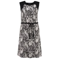 Anna Field CurvyVestito estivo black/light grey