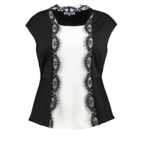 Anna Field CurvyTshirt con stampa black/cloud dancer