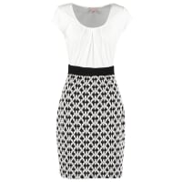 Anna FieldJerseyjurk black/white