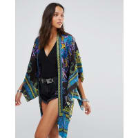 Anna SuiExclusive Kimono - Blue