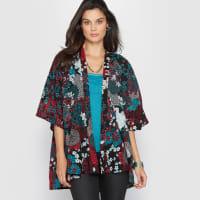Anne WeyburnBedrukt kimono jasje