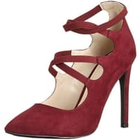 Another Pair of ShoesPaisleyE1, Scarpe con Tacco Donna, Rosso (Wine36), 36 EU