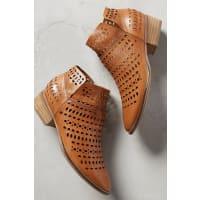 SeychellesTame Laser-Cut Ankle Boots
