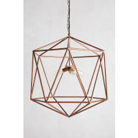 AnthropologieEuclidean Pendant, Faceted Orb