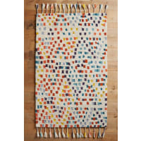 AnthropologieMulti-Dotted Rug