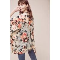 AnthropologieNaissa Velvet Kimono