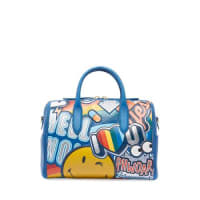 Anya HindmarchVere Barrel Sticker Satchel Bag, Multi