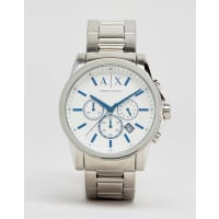 ArmaniChronograph Stainless Steel Watch In Silver AX2510 - Silver