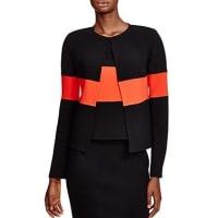 ArmaniColor-Blocked Wool Jacket