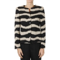 ArmaniStriped Single Breasted Cotton Wool Blazer Herbst/Winter