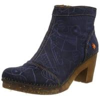 ArtAMSTERDAM - botas de caña baja con forro cálido y botines Mujer, color Multicolor