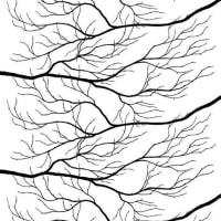 Arvidssons TextilKvisten tyg svart-vit