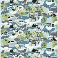 Arvidssons TextilSverigeresan tyg grön