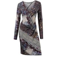 Ashley Brooke by HeineDamen Druck-Kleid bunt Jedes Teil ein Einzelstück