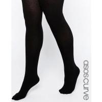 Asos CurveCashmere Blend Tights - Black