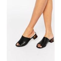 AsosFIDDLE Mule Sandals - Black