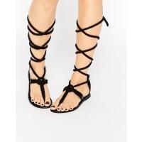 AsosFLYTRAP Rope Tie Leg Sandals