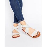 AsosFRAME Leather Sandals - Beige