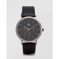 AsosWatch In Black And Burnished Copper - Black