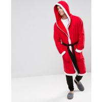 AsosChristmas Santa Dressing Gown - Red