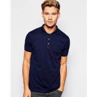 AsosPolo Shirt In Navy - Blue