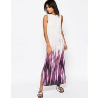 AsosMaxi Dress In Tie Dye Print - Multi