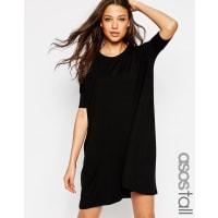 Asos TallT-Shirt Dress - Black