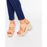 AsosTELL ALL Espadrille Wedge Sandals