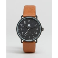 AsosWatch In Black With Tan Highlights - Black
