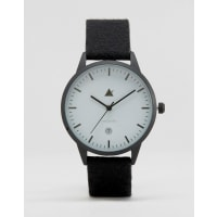 AsosWatch With Charcoal Felt Strap - Charcoal