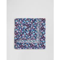 AsosFazzoletto da taschino blu a fiori - Blu
