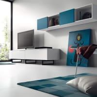 AtyliaMeuble TV design mural Azzuro ATYLIA Editions